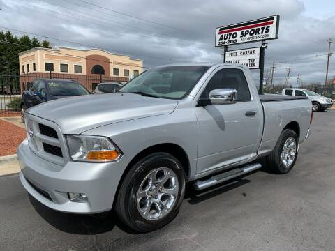 2012 RAM Ram Pickup 1500 for sale at Auto Sports in Hickory NC