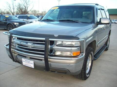 2001 Chevrolet Tahoe for sale at Nemaha Valley Motors in Seneca KS