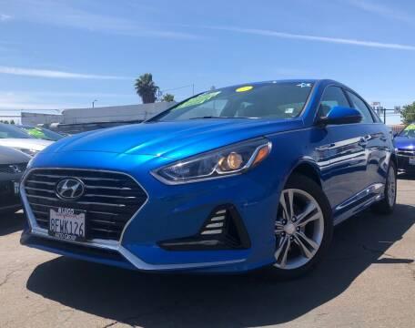2018 Hyundai Sonata for sale at LUGO AUTO GROUP in Sacramento CA