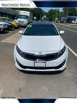 2013 Kia Optima for sale at Manchester Motors in Manchester CT
