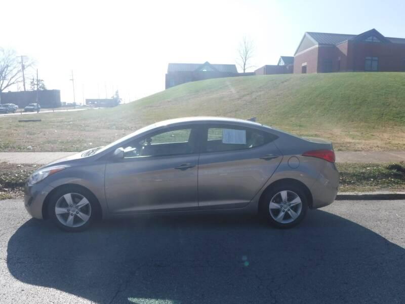 2013 Hyundai Elantra for sale at ALL Auto Sales Inc in Saint Louis MO