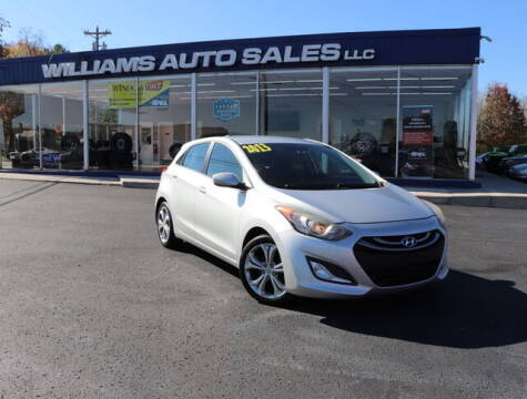 2013 Hyundai Elantra GT for sale at Williams Auto Sales, LLC in Cookeville TN