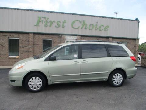 2006 Toyota Sienna for sale at First Choice Auto in Greenville SC