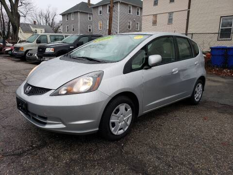 2012 Honda Fit for sale at Devaney Auto Sales & Service in East Providence RI