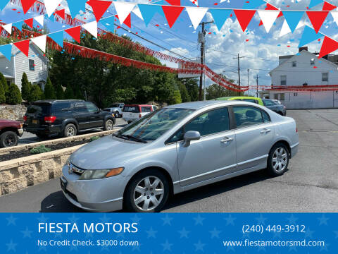 2008 Honda Civic for sale at FIESTA MOTORS in Hagerstown MD