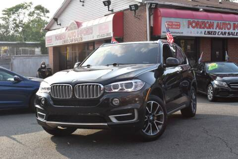 2017 BMW X5 for sale at Foreign Auto Imports in Irvington NJ