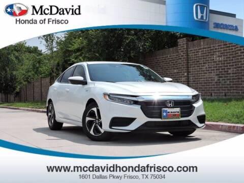 2022 Honda Insight for sale at DAVID McDAVID HONDA OF IRVING in Irving TX