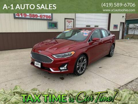 2019 Ford Fusion for sale at A-1 AUTO SALES in Mansfield OH