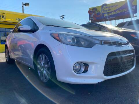 2014 Kia Forte Koup for sale at New Wave Auto Brokers & Sales in Denver CO