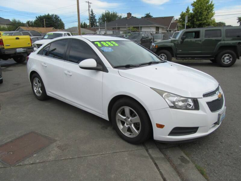2013 Chevrolet Cruze for sale at Car Link Auto Sales LLC in Marysville WA