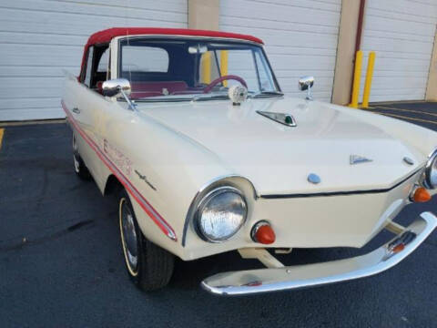 1964 Amphicar Model 770 for sale at Hines Auto Sales in Marlette MI
