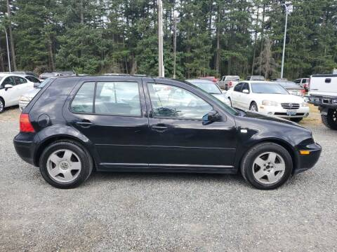 2000 Volkswagen Golf for sale at WILSON MOTORS in Spanaway WA