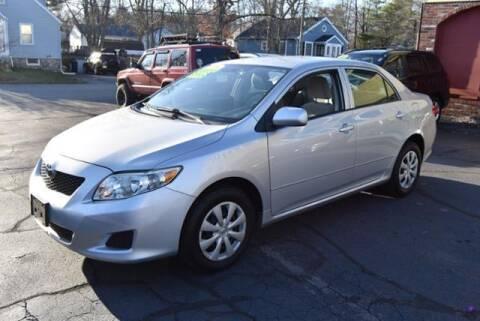 2009 Toyota Corolla for sale at Absolute Auto Sales, Inc in Brockton MA