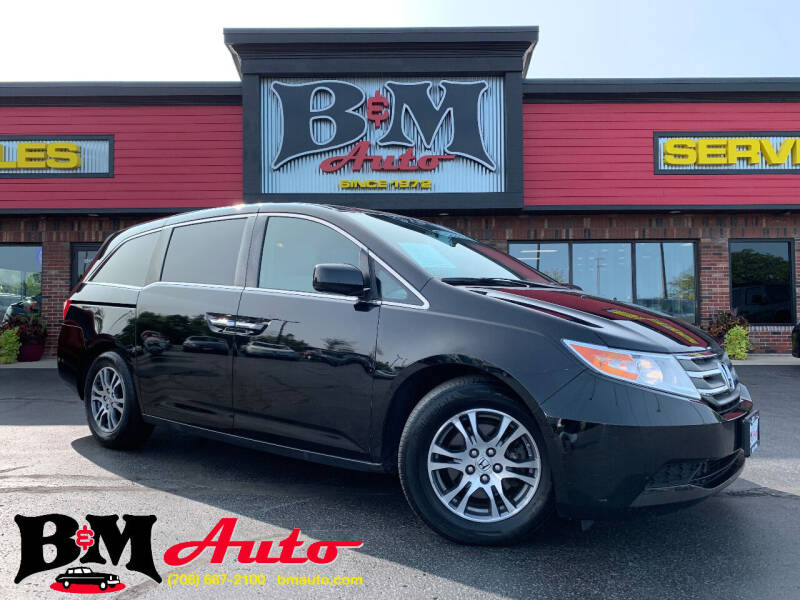 2013 Honda Odyssey for sale at B & M Auto Sales Inc. in Oak Forest IL