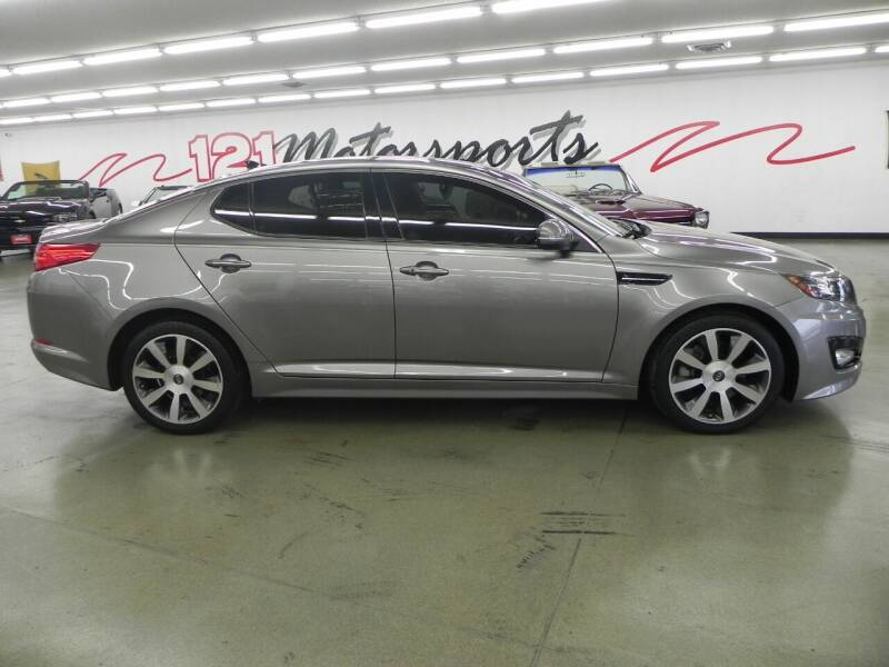 2012 Kia Optima for sale at 121 Motorsports in Mt. Zion IL