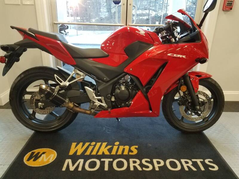 2015 Honda CBR 300R for sale at WILKINS MOTORSPORTS in Brewster NY
