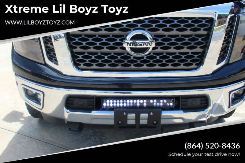 2017 Nissan Titan XD for sale at Xtreme Lil Boyz Toyz in Greenville SC