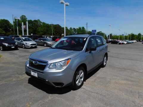 2016 Subaru Forester for sale at Paniagua Auto Mall in Dalton GA