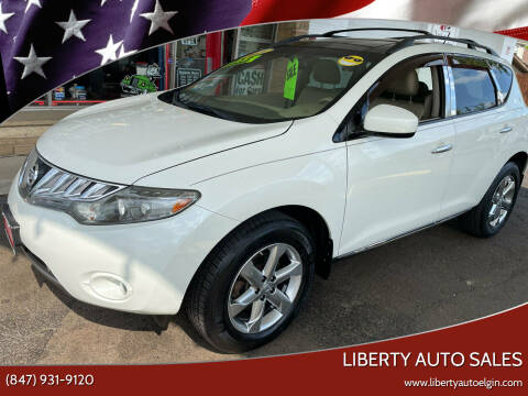 2009 Nissan Murano for sale at Liberty Auto Sales in Elgin IL