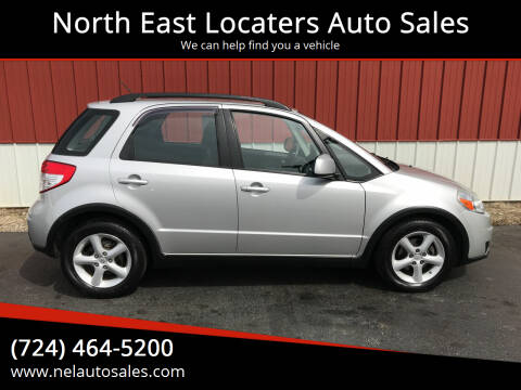 2007 Suzuki SX4 Crossover for sale at North East Locaters Auto Sales in Indiana PA