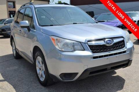 2015 Subaru Forester for sale at LAKESIDE MOTORS, INC. in Sachse TX