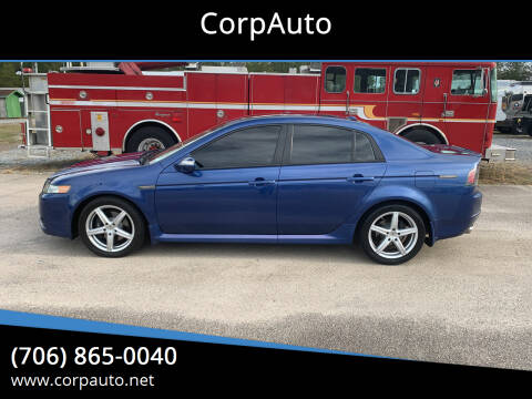 2007 Acura TL for sale at CorpAuto in Cleveland GA
