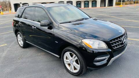 2012 Mercedes-Benz M-Class for sale at H & B Auto in Fayetteville AR
