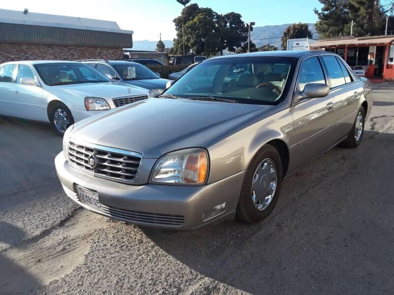 2001 Cadillac DeVille for sale at Goleta Motors in Goleta CA