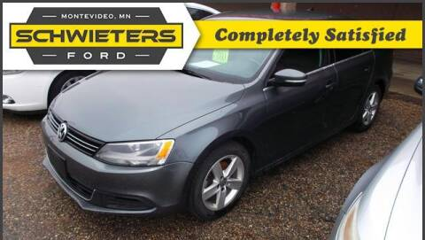 2013 Volkswagen Jetta for sale at Schwieters Ford of Montevideo in Montevideo MN