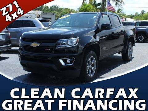 2018 Chevrolet Colorado for sale at Palm Beach Auto Wholesale in Lake Park FL