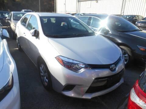 2016 Toyota Corolla for sale at AUTO MART in Montgomery AL