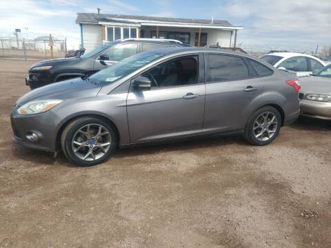 2013 Ford Focus for sale at PYRAMID MOTORS - Fountain Lot in Fountain CO