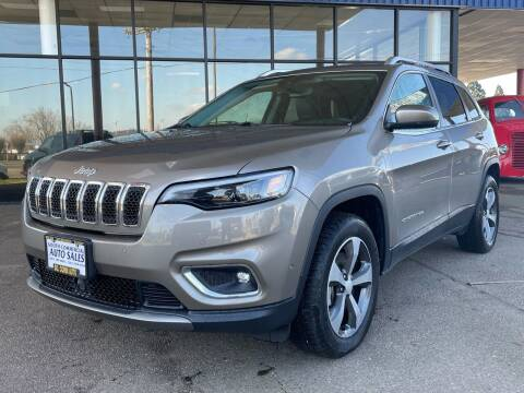 2019 Jeep Cherokee for sale at South Commercial Auto Sales in Salem OR