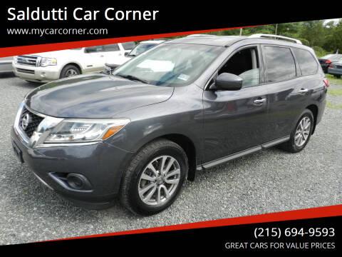 2014 Nissan Pathfinder for sale at Saldutti Car Corner in Gilbertsville PA