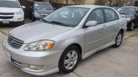 2004 Toyota Corolla for sale at Carspot Auto Sales in Sacramento CA