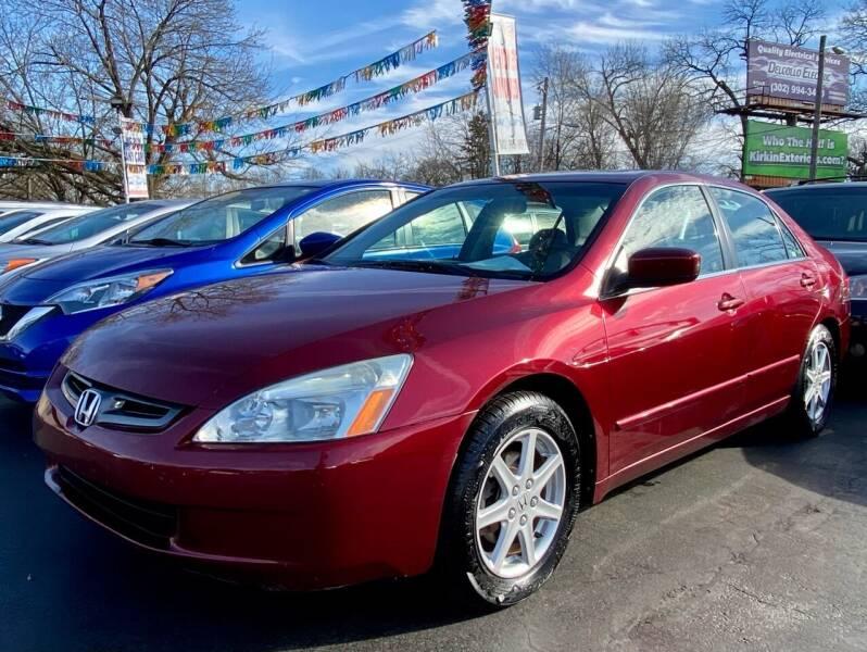 2003 Honda Accord for sale at WOLF'S ELITE AUTOS in Wilmington DE