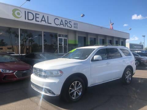 2015 Dodge Durango for sale at Ideal Cars East Main in Mesa AZ