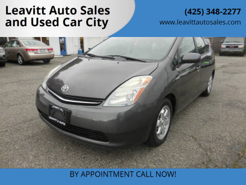 2007 Toyota Prius for sale at Leavitt Auto Sales and Used Car City in Everett WA