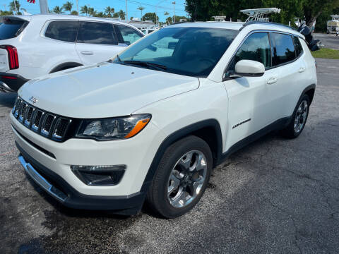 2020 Jeep Compass for sale at Key West Kia - Wellings Automotive & Suzuki Marine in Marathon FL