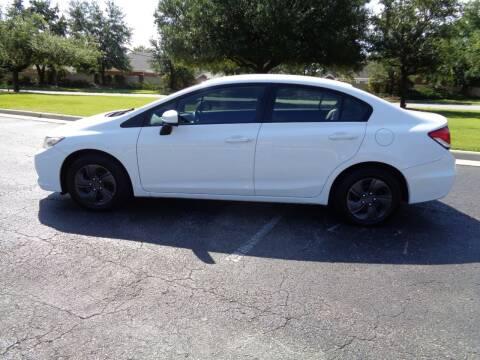 2014 Honda Civic for sale at BALKCUM AUTO INC in Wilmington NC