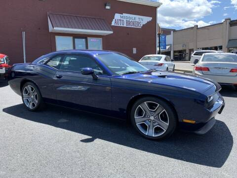 2013 Dodge Challenger for sale at Middle Tennessee Auto Brokers LLC in Gallatin TN