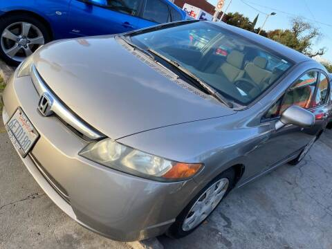 2008 Honda Civic for sale at Olympic Motors in Los Angeles CA