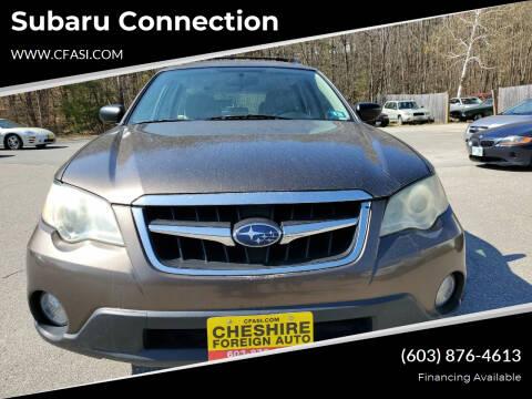 2009 Subaru Outback for sale at Subaru Connection in Marlborough NH