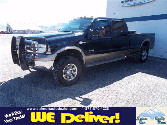 2006 Ford F-350 Super Duty for sale at QUALITY MOTORS in Salmon ID
