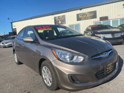 2013 Hyundai Accent for sale at BELOW BOOK AUTO SALES in Idaho Falls ID