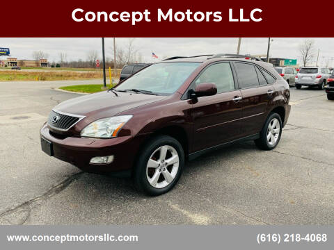 2008 Lexus RX 350 for sale at Concept Motors LLC in Holland MI