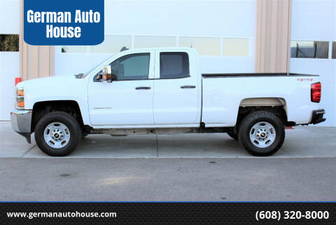 2016 Chevrolet Silverado 2500HD for sale at German Auto House in Fitchburg WI