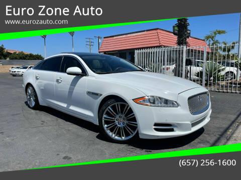 2015 Jaguar XJL for sale at Euro Zone Auto in Stanton CA
