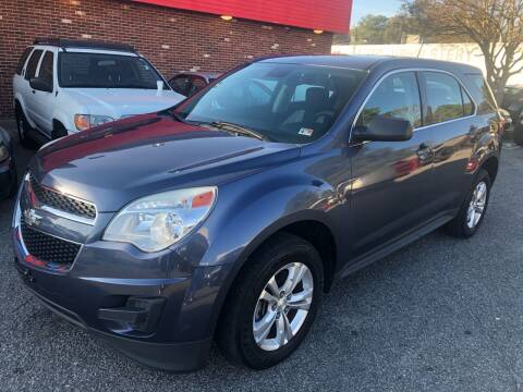 2014 Chevrolet Equinox for sale at HW Auto Wholesale in Norfolk VA