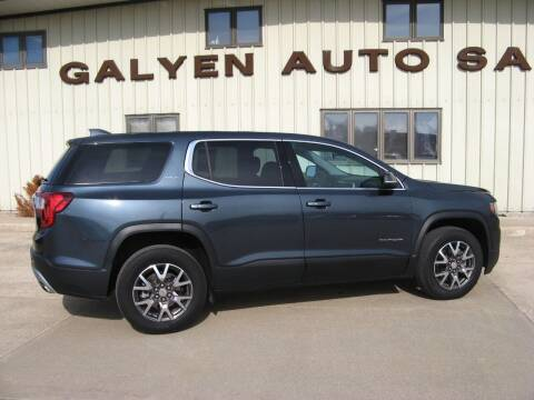 2020 GMC Acadia for sale at Galyen Auto Sales Inc. in Atkinson NE